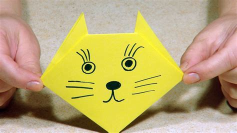 origami for 4 year olds origami for origami cat