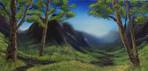 bob ross speed painting bob ross light at the summit zed a shaw