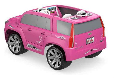 Pink Cadillac Power Wheels by Power Wheels Black Cadillac Escalade Ride On