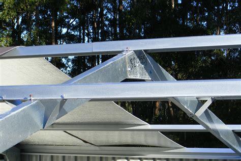Garage Roof Truss Design buy topspan 61 battens top hat batten for sheds amp garages