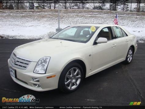 2007 Cadillac Sts 4 by 2007 Cadillac Sts 4 V6 Awd White Photo