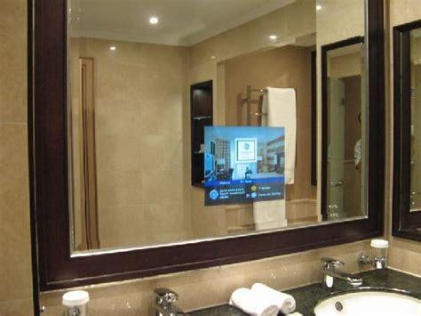 tv bathroom mirror best hotel in croatia kempinski hotel adriatic istria