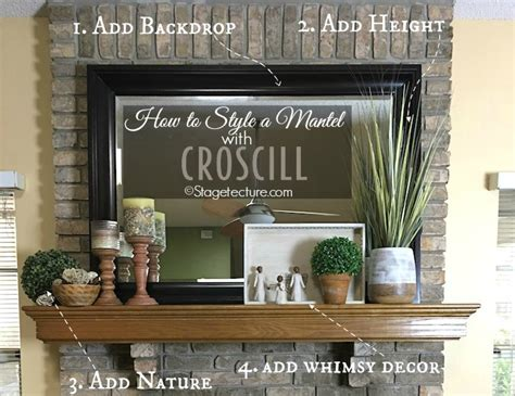 mantel decoration ideas 4 easy fireplace mantel decorating ideas with croscill