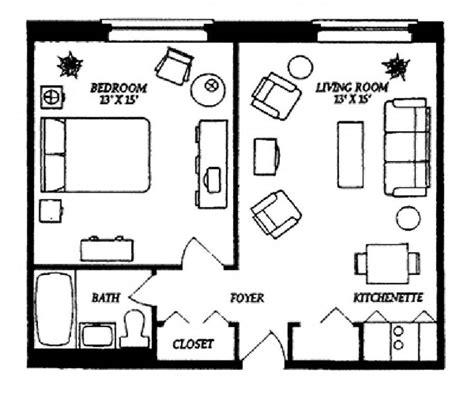 floor plans for one bedroom apartments small studio apartment floor plans our one bedroom