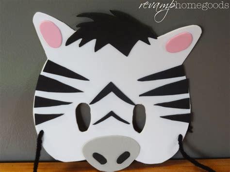 mask craft for crafts diy foam animal masks rev homegoods