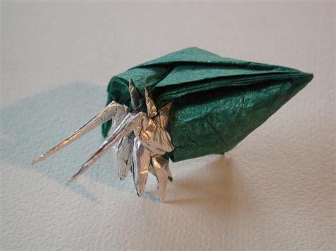 origami hermit crab robert j lang hermit crab
