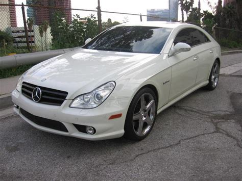 2007 Mercedes Cls63 Amg by Fs 2007 Mercedes Cls63 Cls 63 Amg White On Black 20k