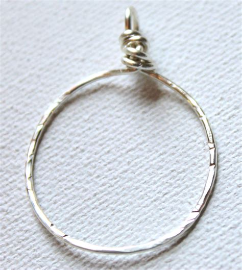 how to make hammered jewelry how to make a hammered circle pendant emerging