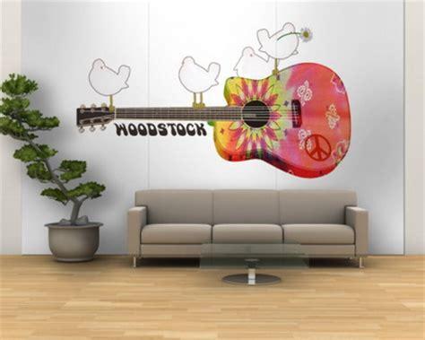 Music Wall Murals wall murals wall murals home decor ideas 187 woodstock