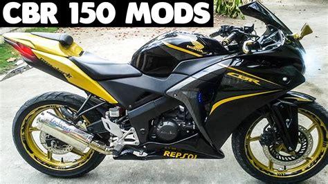 Modified Honda Cbr 150 by Top 10 Best Modified Honda Cbr 150 You Seen