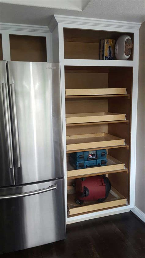 add shelves to cabinets how to redo kitchen cabinets without painting or priming