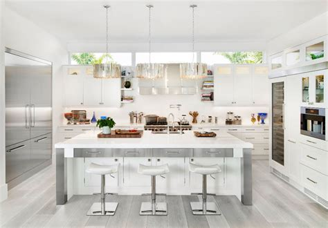 white kitchens with floors 30 gorgeous grey and white kitchens that get their mix right
