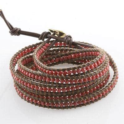 how to make a beaded wrap bracelet how to create a beaded leather wrap bracelet