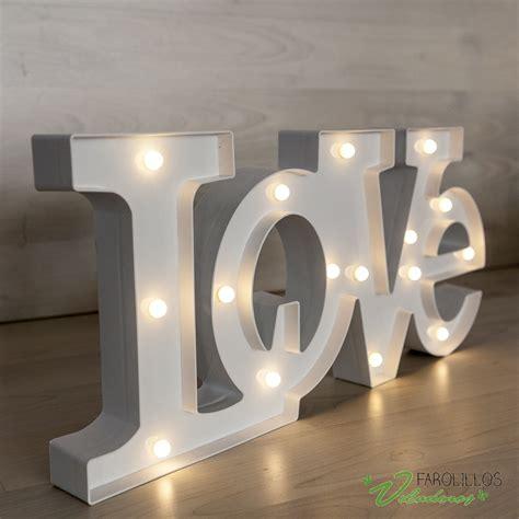 letras love decoracion letras love luminosas