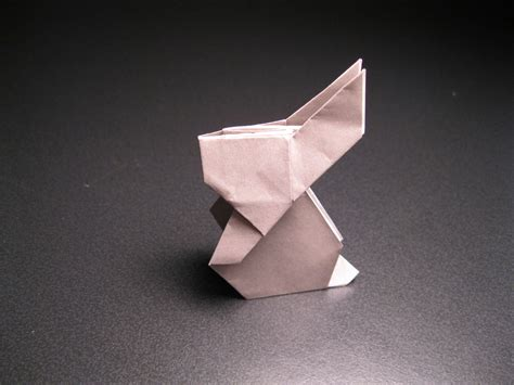 origami rabbits origami rabbit by isparkthefox on deviantart