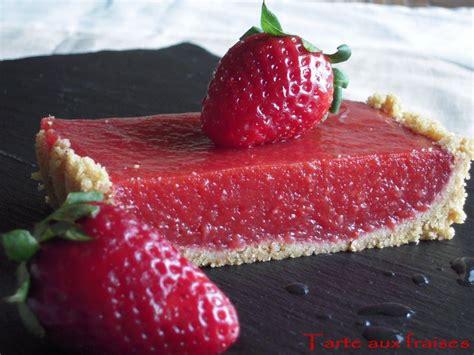 tarte jelly aux fraises cuisine gourmandises