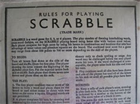 scrabble rule book pdf scrabble