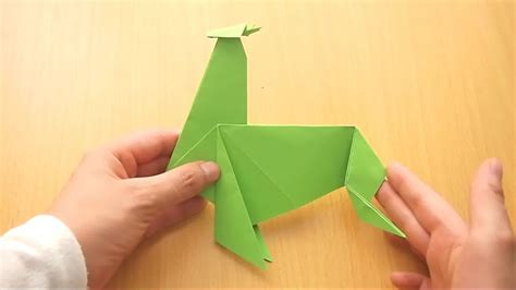 origami reindeer how to make an origami reindeer with pictures wikihow