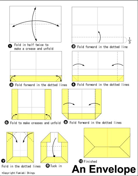 easy origami for using a4 paper a4 envelope fold crafty origami envelope