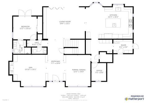 www floorplan schematic floor plans sle floor plan square footage matterport help center