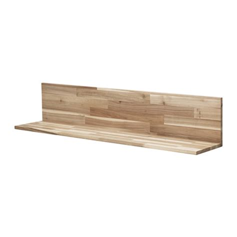 wood shelves ikea skogsta wall shelf ikea