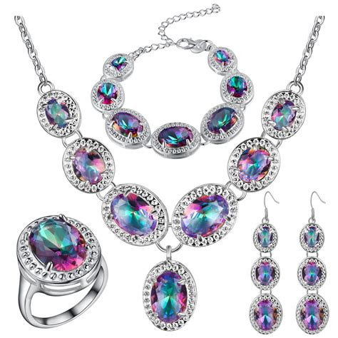 silver for jewelry new sapphire 925 sterling silver jewelry sets wedding
