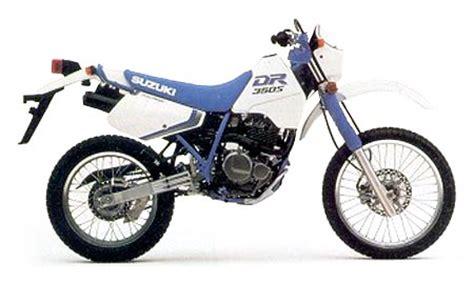 1990 Suzuki Dr350 by Suzuki Dr350 Model History