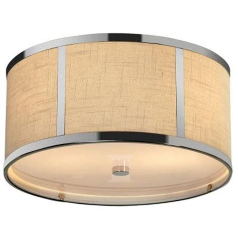 ceiling light fixtures home depot trend lighting pique 2 light polished chrome ceiling
