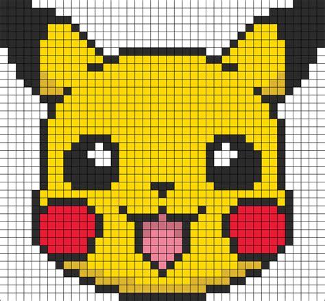 pikachu perler bead template battle trozei pikachu perler bead pattern bead