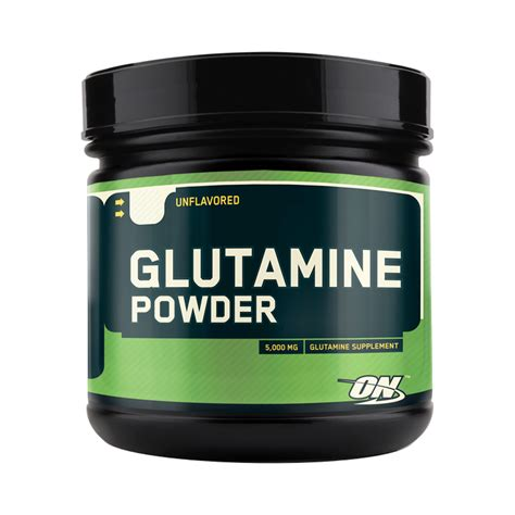 Glutamine Powder 21.1oz (600g)   Amino Acids   Optimum Nutrition