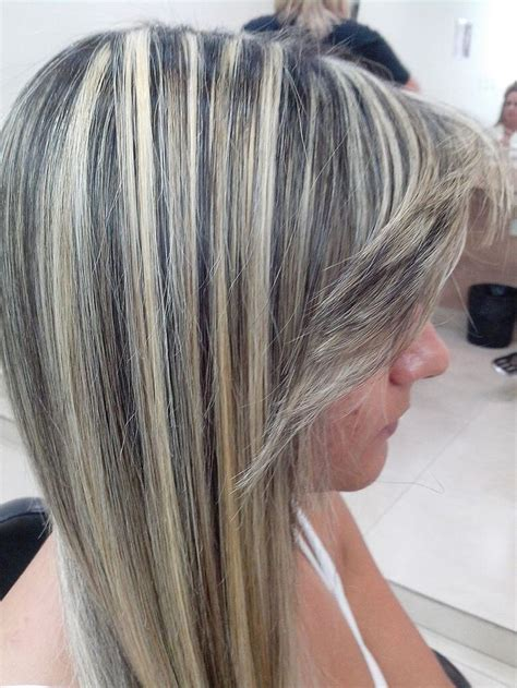 highlights vs frosting of hair frosted blonde hair color pictures dark brown hairs
