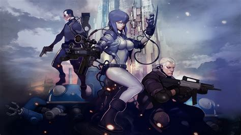 ghost in the shell ghost in the shell gets a new videogame in the form of a