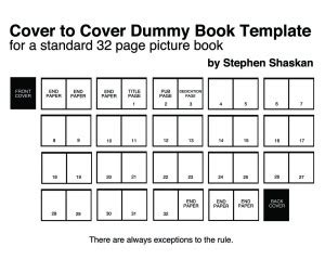picture book page layout 32 page picture book dummy template 171 stephen shaskan