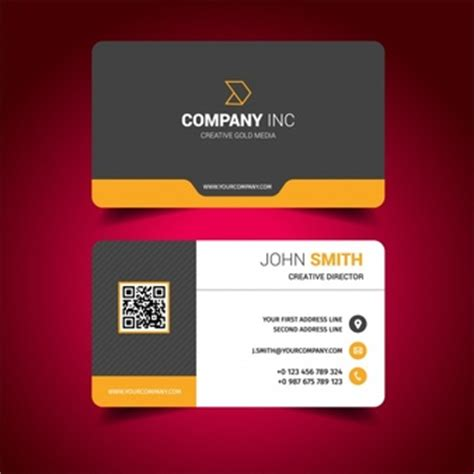 make visiting card creative resume template free psd file free