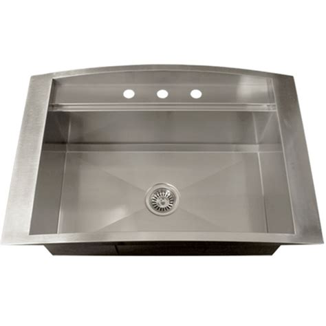 square kitchen sinks ticor tr2000 overmount 16 stainless steel square
