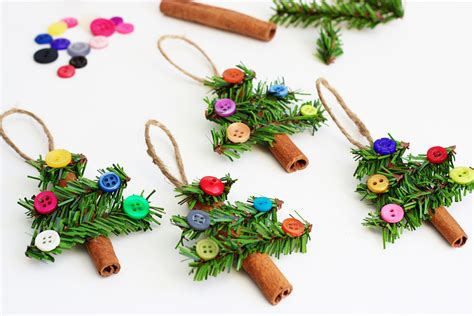 tree ornaments tree ornaments made with cinnamon sticks pine garland