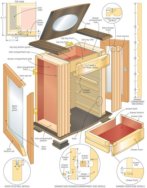 woodworking plan 4 easy jewelry box woodworking plans