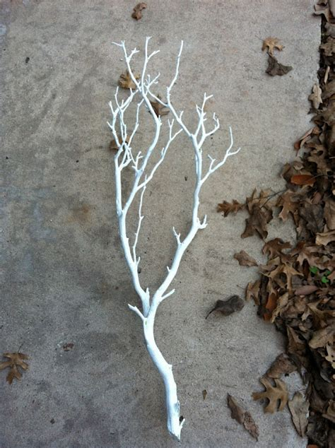 spray painting tree branches how to throw a magical snow white