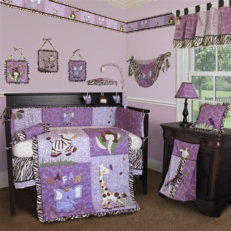 purple nursery bedding sets custom baby boutique modern baby crib sets