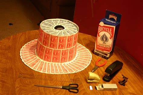 how to make a top hat from card top hat made of cards