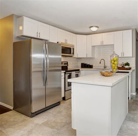 kitchen island with refrigerator what is the difference between a regular refrigerator and a counter depth refrigerator