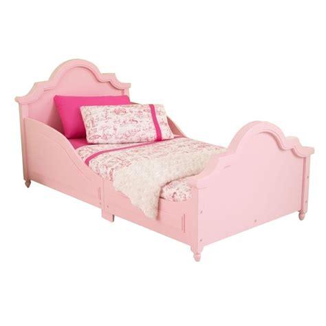 kid craft beds kidkraft raleigh toddler bed in pink 86944