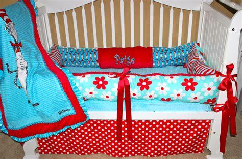 custom baby bedding dr seuss set