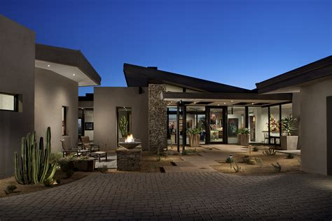 contemporary architects project feature contemporary desert mountain estate phx
