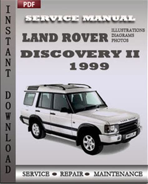 service manual 1999 land rover discovery series ii remove transmission used 1999 land rover land rover discovery 2 1999 service repair manual repair service manual pdf