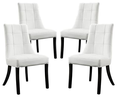 dining chairs 4 set noblesse vinyl dining chair set of 4 dining chairs by