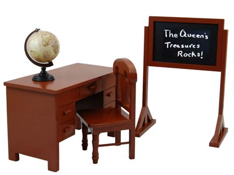 18 inch doll desk school desk and play set for 18 quot dolls fits
