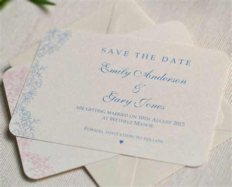 where to make save the date cards vintage lace wedding save the date cards by beautiful
