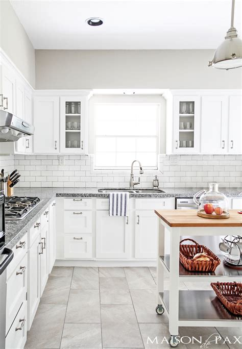 white kitchens with floors source list for classic white kitchen maison de pax