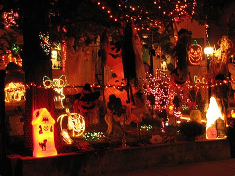 photos of homes decorated for scary decorating ideas house experience